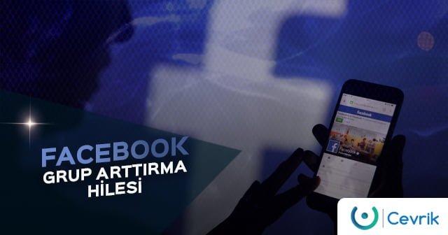 Facebook Grup Arttırma Hilesi