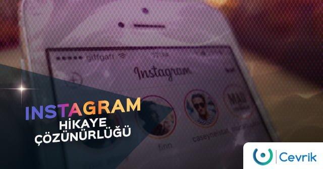 Instagram Hikaye Çözünürlüğü