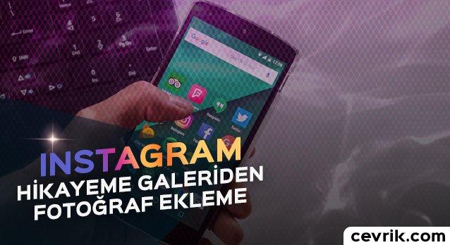 Instagram Hikayeme Eski Resimleri Ekleme