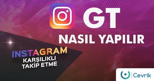Instagram Karşılıklı Takip Etme