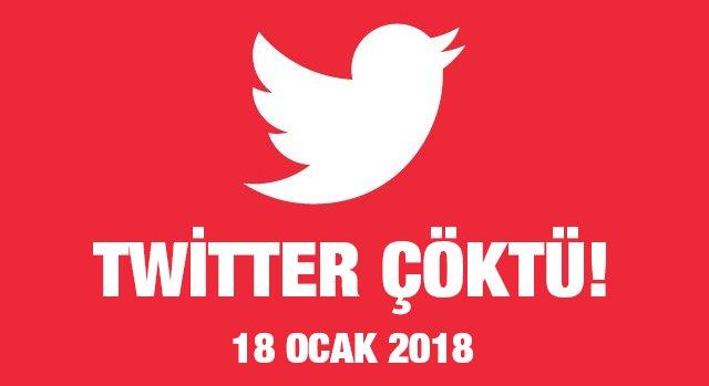 Twitter Çöktü! – 18.01.2018