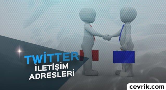 Twitter İletişim Maili / Telefon Numarası